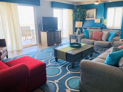 Photo for Ocean House I 1406 - A MUST SEE!! Upgraded beachfront beauty & one-of-a-kind floor plan