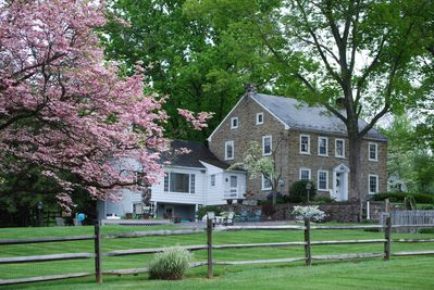 Spring at The Stone Home at Shallowbrook Farm.  Beautiful and serene!
