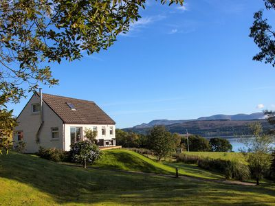 Photo for Rowan Cottage, country location near Dunoon, pet friendly sleeps 6, Visit Scotland 4 star