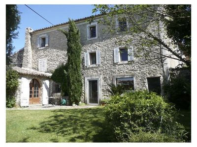 Photo for beautifully situated typical old farmhouse in the beautiful Goult Luberon