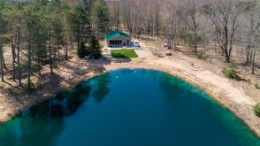Photo for 2BR Cabin Vacation Rental in Free Soil, Michigan