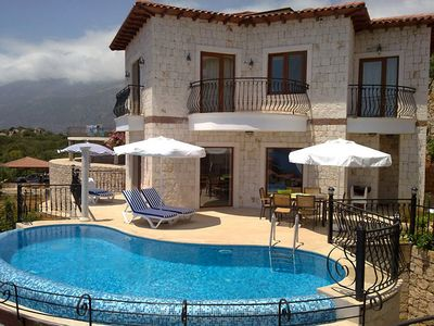 Photo for Villa Yildiz With Private Pool And Sea Views