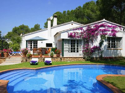 Photo for VILLA VT 141, TAMARIU - 3 Bedrooms, Private Pool, WiFi, BBQ, Table Tennis