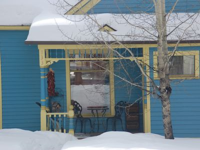 Photo for Bright Blue Bungalo in the Heart of Leadville