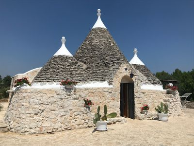Photo for Beautifully restored Trullo nestled in the heart of the Itria Valley