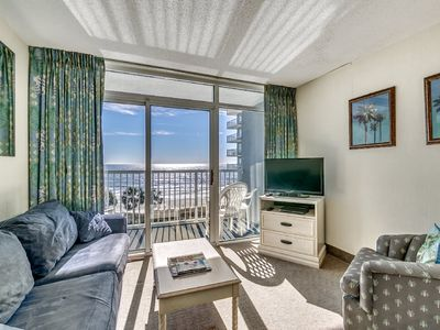 Photo for Oceanfront 4th Floor Condo, Indoor and Outdoor Pools