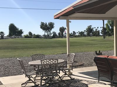 Photo for 5 star resort  home on the golf course relax in your patio with awesome views