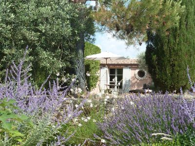 Photo for GORDES - PINK HOUSE - 2 ADULTS