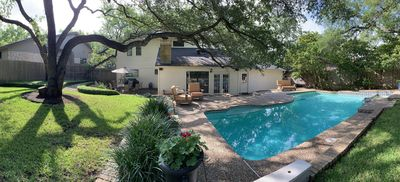 Photo for 4/3 Lux Home w/pool  3mils toDwntwn,  SXSW, walk to ACL/Zilker Park *LOCATION*