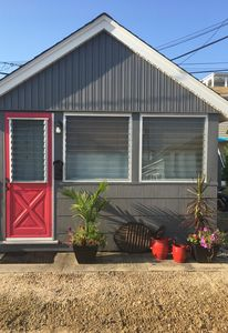 Photo for Darling little beach bungalow one block from beach