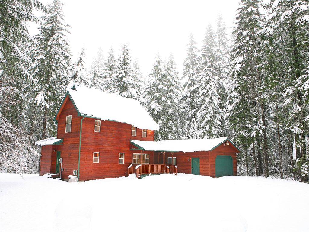 Baita per 10 persone in packwood 3937174 for Cabine vicino a mt ranier