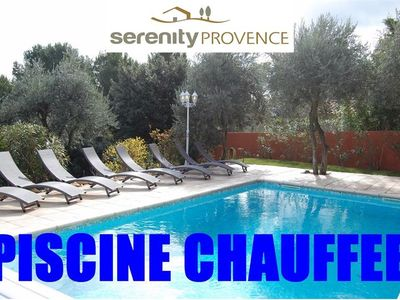 Photo for Beautiful air-conditioned house - heated pool - magnificent view
