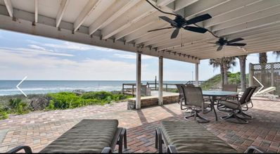 Photo for Large Beautiful Ocean Front Home. Amazing inside and out. Many decks & fire pit