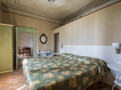 Photo for Deluxe double room  in Tuscan Villa