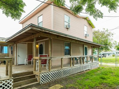 Photo for NEW LISTING! Dog-friendly island home with huge deck and fenced backyard