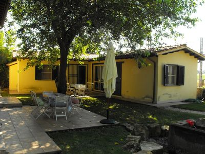 Photo for Cottage Stallette with swimming pool, surrounded by greenery at 1 km from the sea of Capalbio