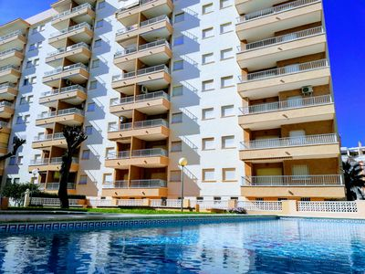 Photo for Nice apartment on 9th floor with 2 bedrooms and fabulous sea views!