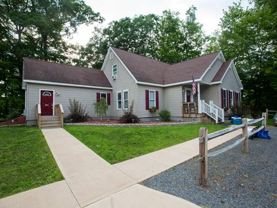 Photo for Home Run of Homes! HEATED POOL, Pool House, Sleeps 24, 3.9 miles to Dreams PA