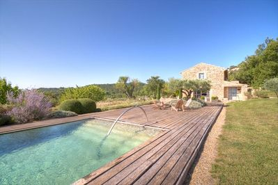 Delicious Pool and Teak Deck