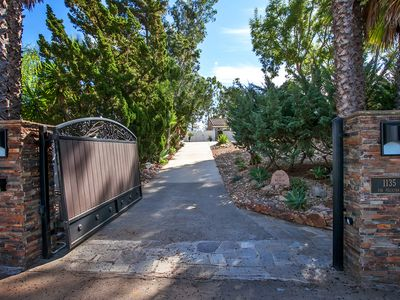 Photo for BEAUTIFUL VIEWS, POOL, GATED 1 ACRE NEAR RANCHO SANTE FE