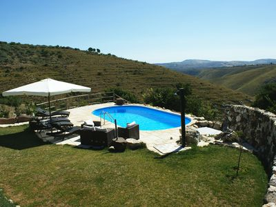 Photo for Country house in the nature park in the middle of the olive mountain - pure peace and relaxation