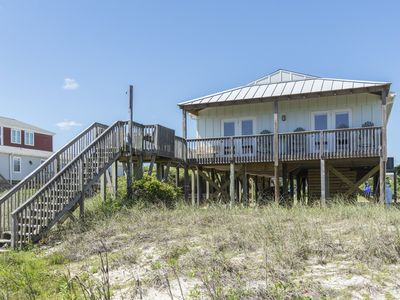 Photo for Pelican Flight: 4 BR / 2 BA home in Oak Island, Sleeps 9