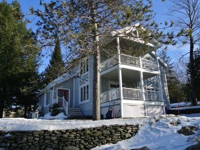 Photo for HUGE CHALET BY THE BROME LAKE