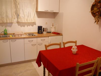 Photo for Ground floor apartment with satellite TV for 2 persons - private terrace