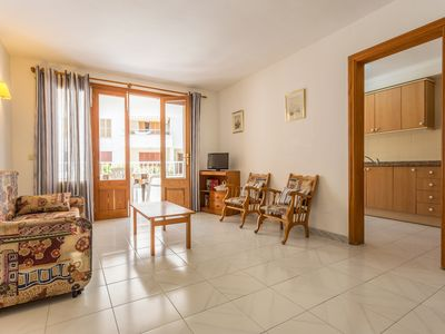 Photo for 2 Bedroom Apartment 50 meters from the beach of Colonia de Sant Jordi