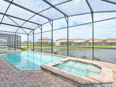Photo for WINDSOR AT WESTSIDE LAKE FRONT POOL HOME, GATED- RESORT COMMUNITY, GAME ROOM, FREE WIFI!!