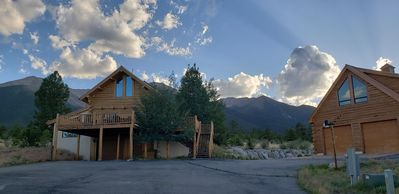 Photo for Luxury Log Home at Foot of Mt. Princeton