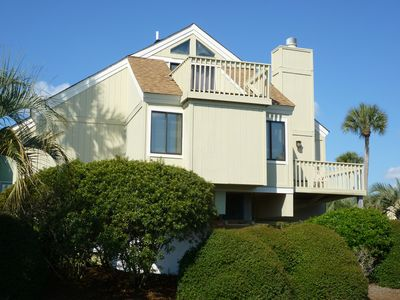 Photo for Privacy with Pool, and Short Walk to Beach! Hi-Speed Internet, Bikes, Grill