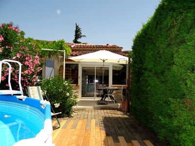 Photo for Duplex 4 people in the heart of Provence