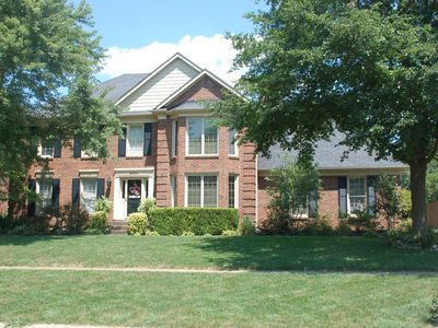 Photo for Gorgeous 4 bedroom home, 10 minutes from downtown, perfect derby retreat!