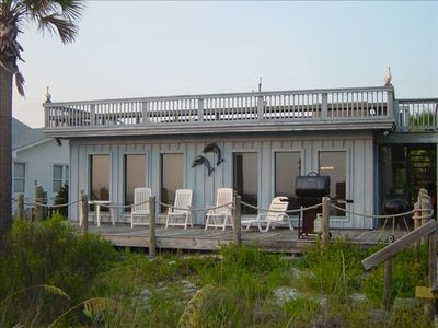Photo for Luxurious  Gulf Front Home Located Directly on the Beach