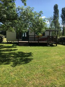 Photo for Riverside 2 bedroom mobile home with patio