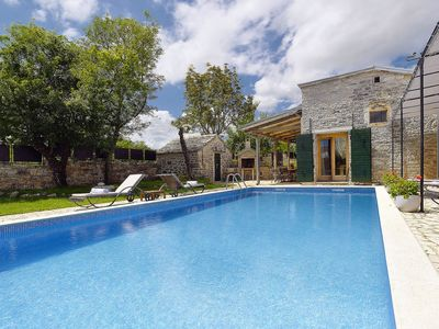 Photo for This 4-bedroom villa for up to 8 guests is located in Gracisce/Gračišće and has a private swimming p