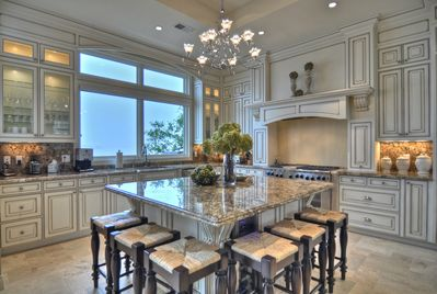Professional Grade Kitchen with Separate Wine Fridges
