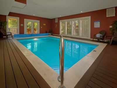 Photo for Ultimate Family Vacation Cabin - Indoor Pool, Theater, Game Room