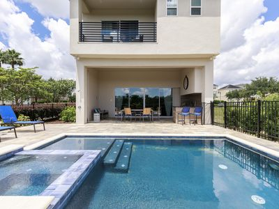 Photo for Real Reunion Home: Game Room, Pool, Free Water Park, Near Disney