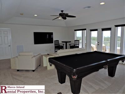 Photo for 524 Spinnaker; Large and Beautiful home by Tigertail Beach. Lots of entertainment Billiards, foosball, beach equipment