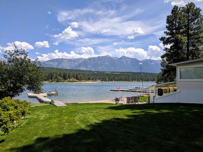 Photo for Lakefront Cabin With Outstanding Views Of Wasa Lake & The Rocky Mountains