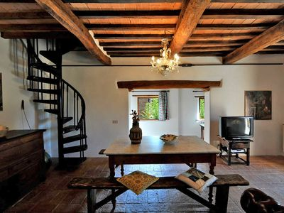 Photo for 2 bedroom Apartment, sleeps 5 in Villa Montesoli with Pool and WiFi