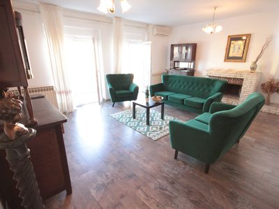 Photo for Bright and Spacious Apartment, near Lungomare Beaches and city downtown