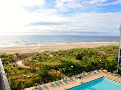 Photo for Ocean Front Complex In North Ocean City, Great View Of The Beach!