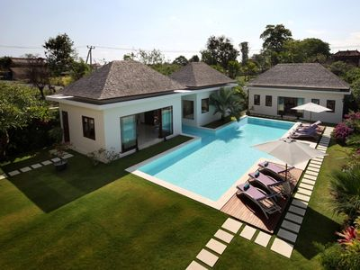 Photo for 5 BR Exquisite Designer Villa in the Heart of Canggu by Nakula by Nakula