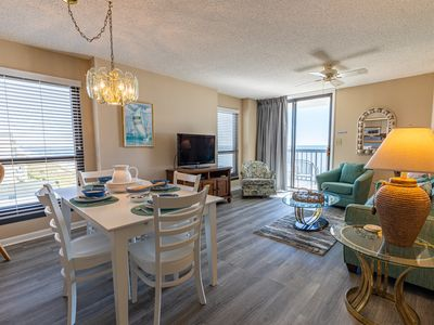 Photo for WaterPointe II-- Fresh Upgrades New Flooring, New Decor, OceanFront Fantastic