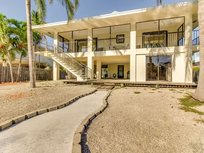 Photo for Waterfront home w/ a 37.5-ft dock including access to shared pool & beach!