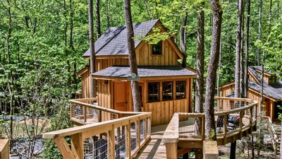 Photo for The Hemlock in Treehouse Grove at Norton Creek