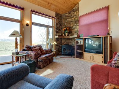 Photo for Secluded mountain getaway w/ sweeping views - outdoor adventures await close by!